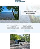 Reisedienst Fischer - Homepage des Monats Juli 2021